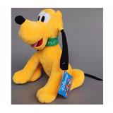 Boneco Pelúcia Cão Pluto Musical Mickey Minnie Promoção