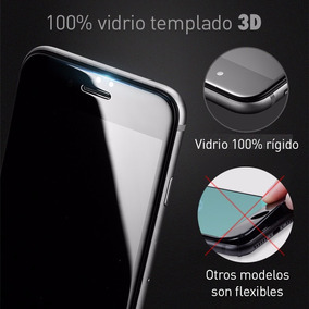 Mica 100% Vidrio Templado 3d Iphone 6, 6s Plus, 7 Y 7 Plus