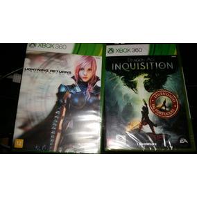 2 Jogos Xbox360 Originais Lacrado.