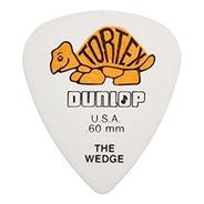 Kit 12 Palhetas Dunlop Tortex Wedge 0.60mm Usa 424r.60