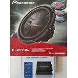 Woofer Pioneer Ts-w311d4 Y Amplificador Blaupunkt Clase D