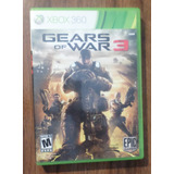 Gears Of Wars 3 Xbox 360
