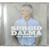 Sergio Dalma Via Dalma Iii Cd Nuevo Sellado
