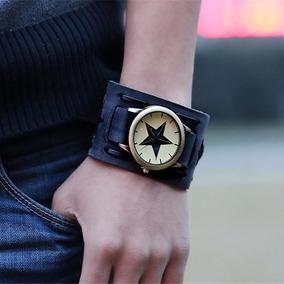 Relógio Bracelete Estrela Preto - Promoção Black Friday