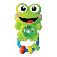 Chocalho C/ Som E Luz Para Bebê - Sapo Sapinho - Zoop Toys