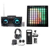 Novation Launchpad Pro Midi+ Speaker+ Audifonos+ Microfono