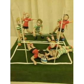 Jugadores De Rugby, Fútbol, Otros Deportes X 4