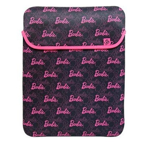 Funda Para Laptop En Neopreno De Barbie 13 Pulgadas