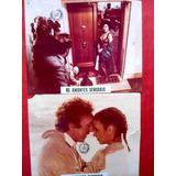 Lote De 2 Lobby Cards Filme Os Amantes Sensuais! 1980