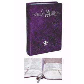 Bíblia Sagrada Almeida Ra Estudo Da Mulher Média Violeta