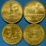 Tp 4 Conmemorativas 2 Sesquicentenario Y 2 Zabala En Un Lote