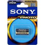 3 Pilas Sony De Litio Cilindricas Cr-123a