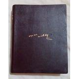 Aguilar Oscar Wilde Obras Completas Cuero P/biblia Exc. Cond