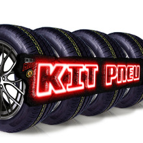 Kit 4 Pneu 225/50 R17 Michelin Remold Cockston 5anos Gtia