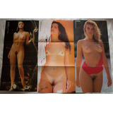 Posteres Playboy Avulsos Lote Com 9 (a1)