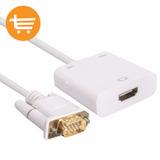 Cable Adaptador Vga Macho A Hdmi Hembra + Audio, Providencia