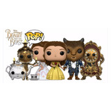 My Princess: Funko Pop! Beauty And The Beast Lote X4