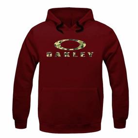 blusa de frio oakley vermelha