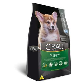 Ração Cibau Medium Breeds Para Cães Filhotes De Raças Médias