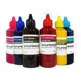 Tinta Sublimacion Para Epson T50 1430w R290 6 Colores Imprek