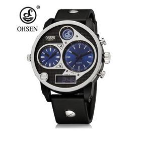 e44302edd21 Relogio Ohsen Outras Marcas Cor Azul - Relógios De Pulso no Mercado ...