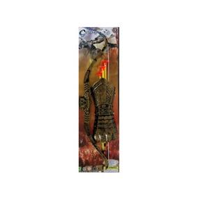 Arco E Flecha Medieval Com Acessorios C:46 Cm