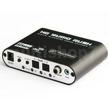 Adaptador De Áudio Digital Para Analógico 5.1 Ou 2.1 Rca