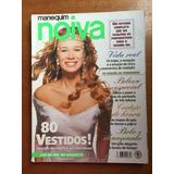 Revista Manequim Noiva Mariana Ximenes 80 Vestidos Ano 2000