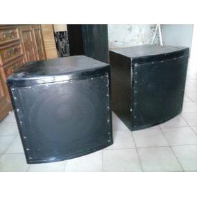 Caixa Som Sub Grave 15 Sub Woofer 400 Watts Rms Cada