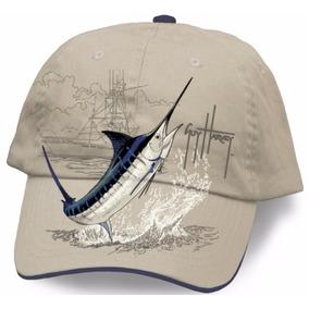 Gorra Guy Harvey Marlin Boat Hat Color Beis