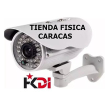 Camara Exterior Bullet 1000tvl 3.6mm Tienda Fisica Caracas