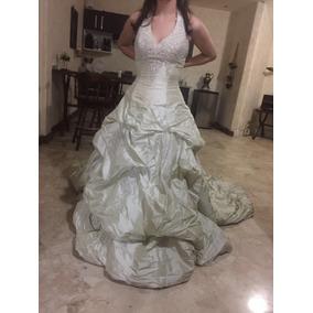 Vestido Novia Color Champán