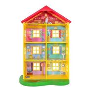 Peppa Pig Casa De Lujo Luces Y Sonidos Family Home Playset