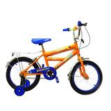 Bicicleta Bmx Niño R/radio M/reforzado C/parrilla R#16