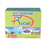 Kit Parche Resina Y Fibra De Vidrio Rucar X 500 Cc Para Rep