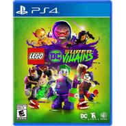 Lego Dc Super Villains Formato Físico Ps4 Original