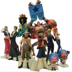 Set 10 Figuras One Piece Envio Gratis Zoro Sanji Luffy Nami