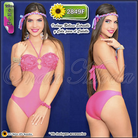 Traje Baño Dama Ultima Moda 2017 Trikinis Enteros Mayor