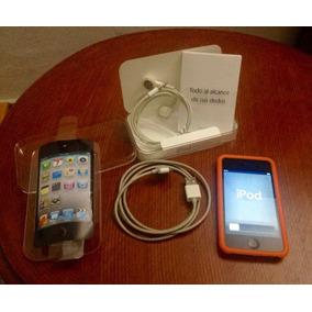 Ipod Touch 4g De 8gb + Sistema De Sonido Sony