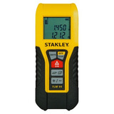 Distanciometro, Medidor Laser Stanley 30 M, Area, Volumen
