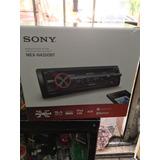 Estereo Sony Bluetooth Usb Aux Mp3 Control Remoto Carátula