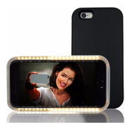 2 Carcasa Luminosa Selfie iPhone 6 Estuche Forro Funda 2x1