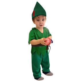 Disfraz Duende Verde Para Bebes Completo Hermoso! Jiujim