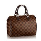 Bolsa Louis Vuitton Speedy 30 Damier Azur Original 3 Cores