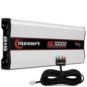Módulo Taramps Hd 10000w Rms 1 Canal 1 Ohm Amplificador D
