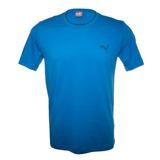 Camiseta Puma Ess Tee Azul Original Em Promoção