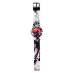 The Joker Reloj De Pulsera Led Ha-ha Unisex Dc Comics