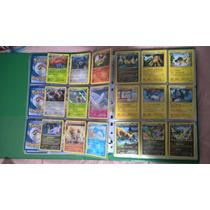 Mega Lote Pokemon Xy - 100 Cartas Com 5 Raros E 1 Foil