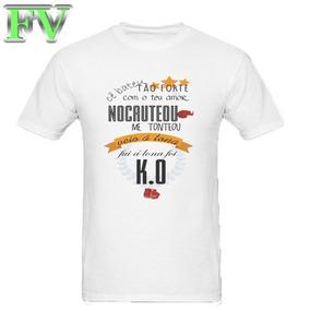 9ea4cdf7ae Camisa Vit Ria De Guimar Es - Camisetas Manga Curta no Mercado Livre ...