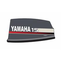 Kit Adesivo Motor Yamaha 15 Hp Ano 1993 À 1997
